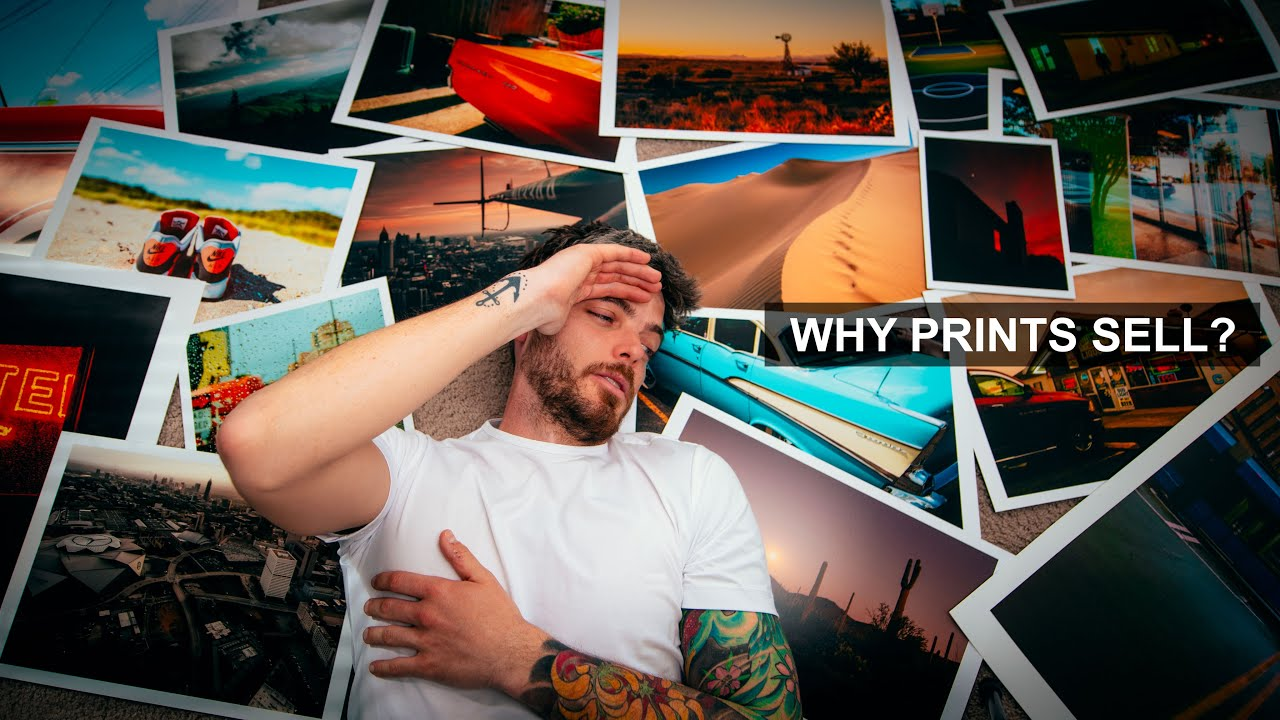 Why You Can't Sell Your Photography Prints - youtube