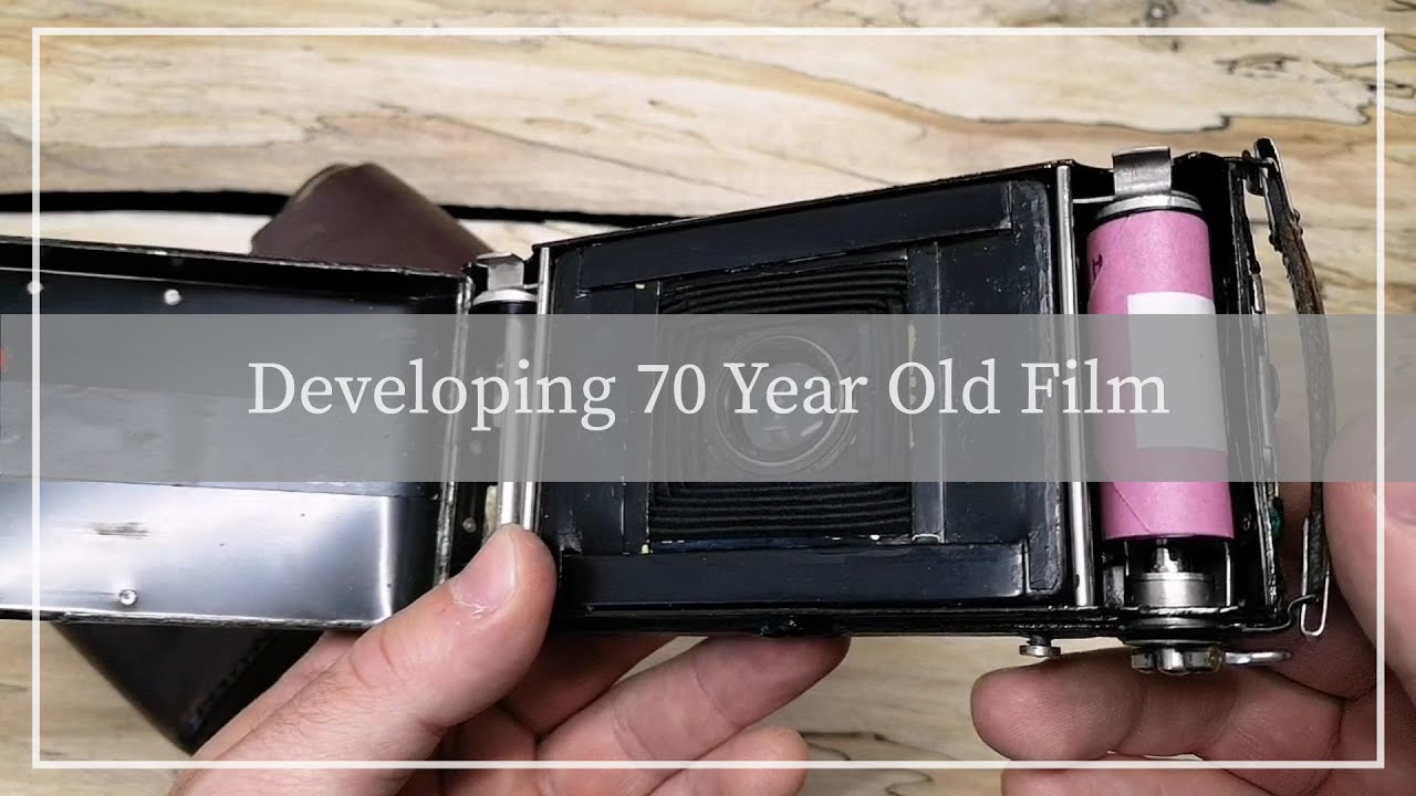 Ghosts In The Roll: Developing 70 Year Old Film from a 90 Year Old Voigtlander Camera - youtube