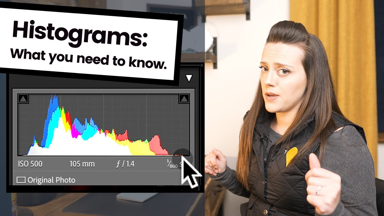 Histograms: What is a histogram in photography, what to actually look at & why you should care! - youtube