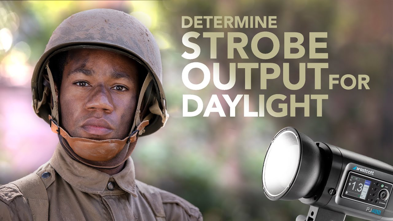 How To Determine Power Output For Strobes In Daylight - youtube