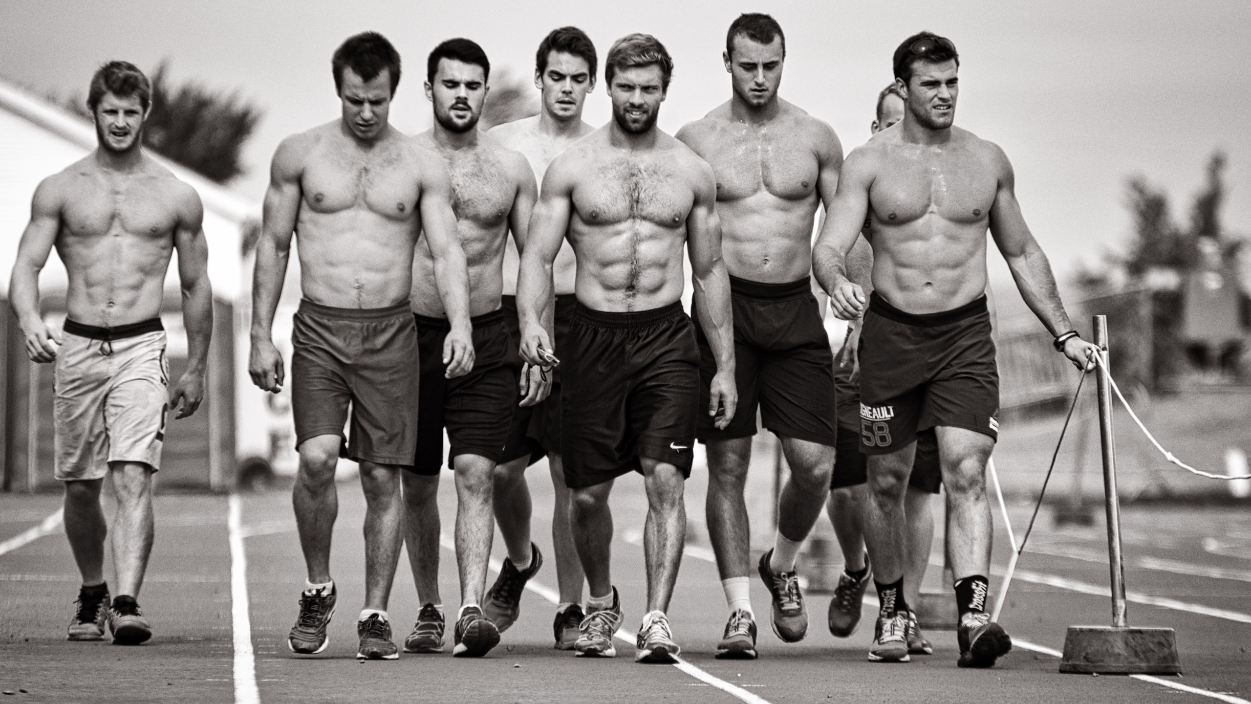 Male athletes