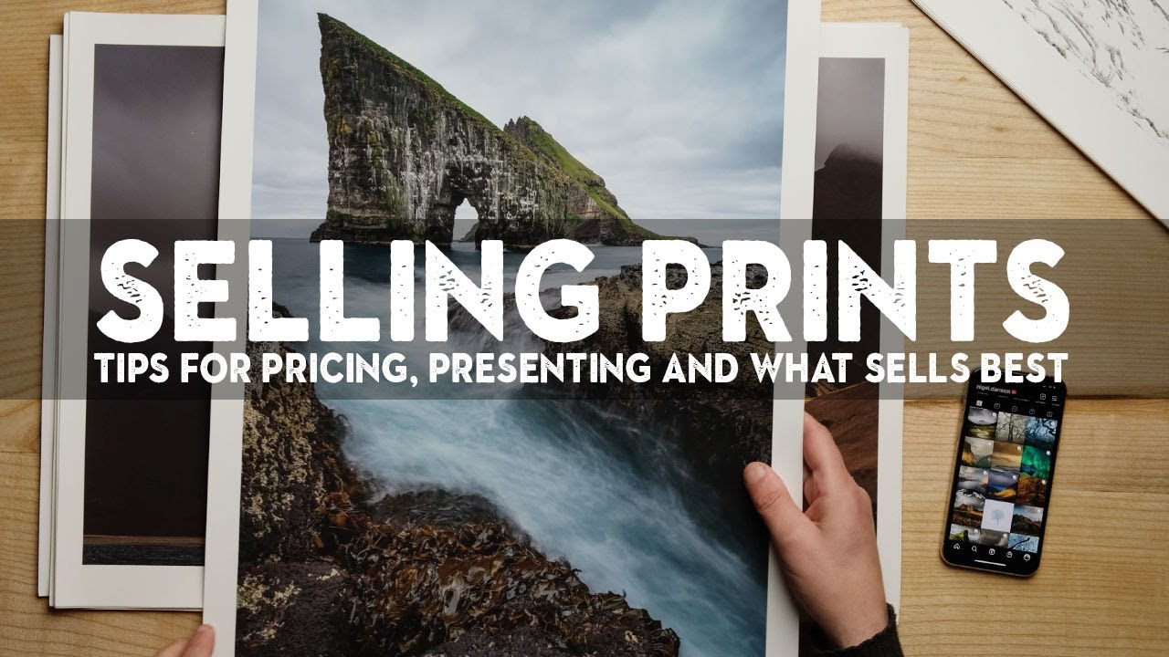 SELLING PRINTS - My best (and worst) selling photos may surprise you - youtube