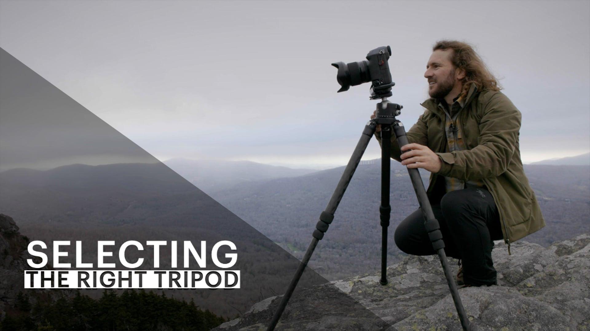 Selecting the Right Tripod - vimeo