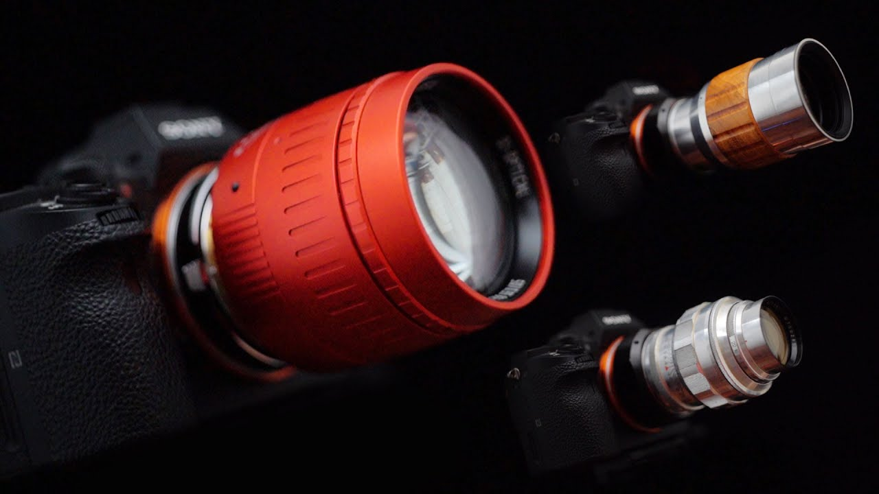 5 Weird and Beautiful Lens Designs you can Adapt on Digital Cameras - youtube