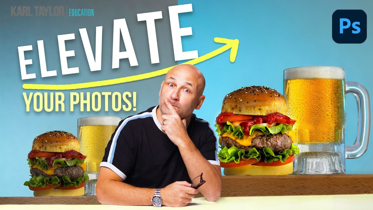 How to fix dull food photographs | 10 minute Photoshop tutorial - youtube