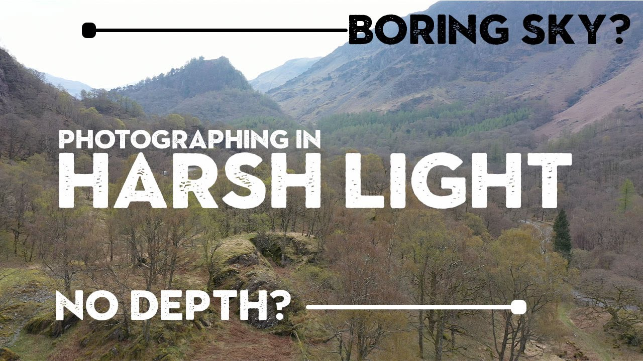 SIMPLE TIPS for PHOTOGRAPHING in HARSH LIGHT - youtube
