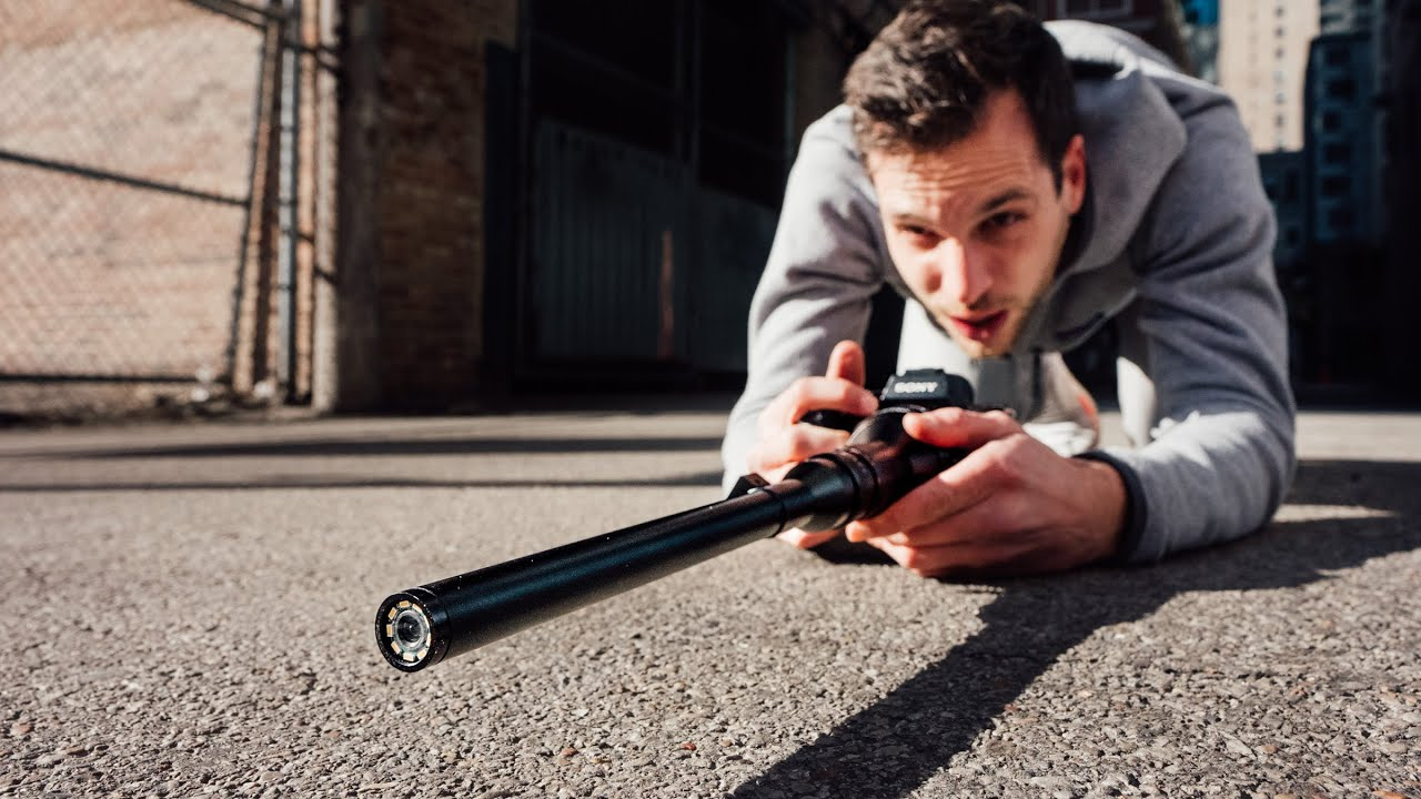 Macro probe lens: Shooting The WEIRDEST Lens In The World!