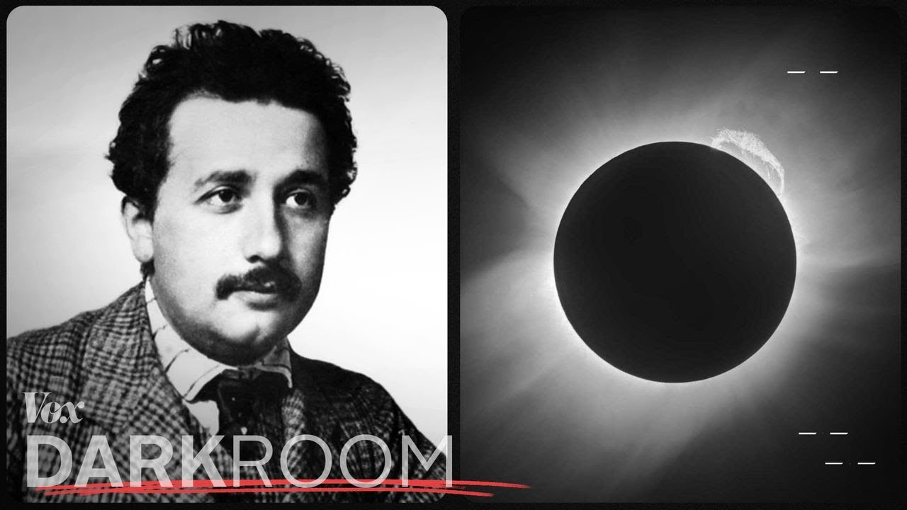 The eclipse photo that made Einstein famous - youtube