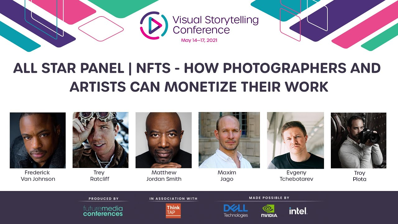All Star Panel NFTs How Photographers and Artists can Monetize their Work - youtube