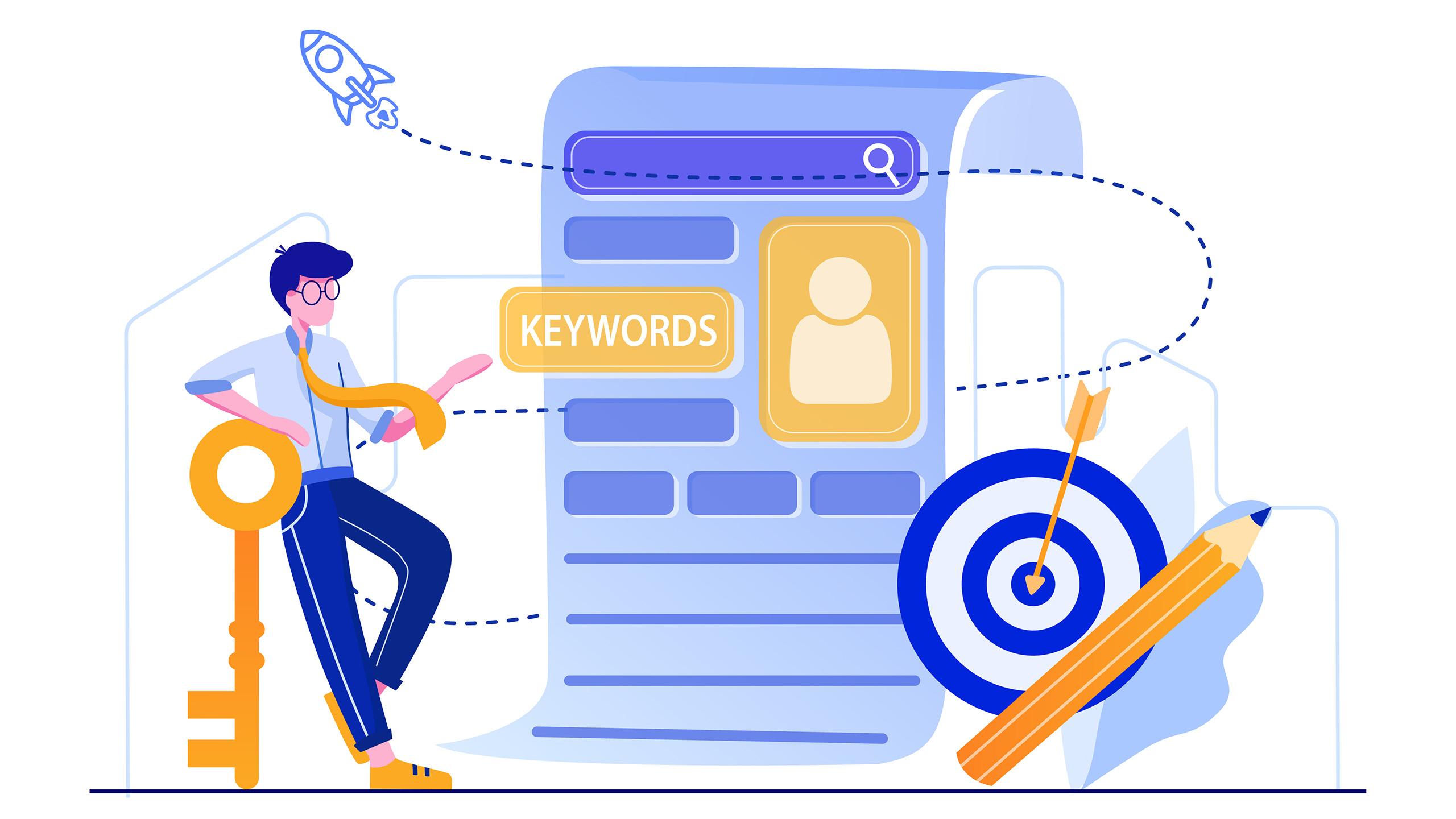 Digital Marketing Tips - Keywords