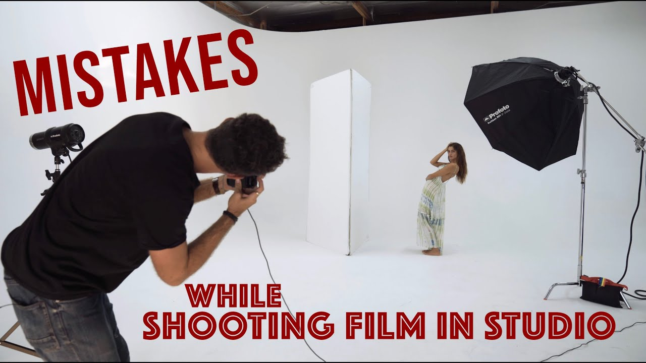 Shooting Film In Studio and How We Totally Blew a Shoot - youtube
