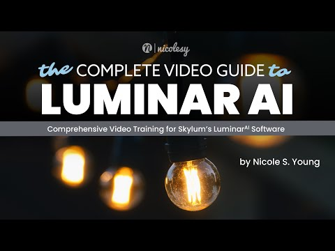 The Complete Video Guide to Luminar AI - youtube