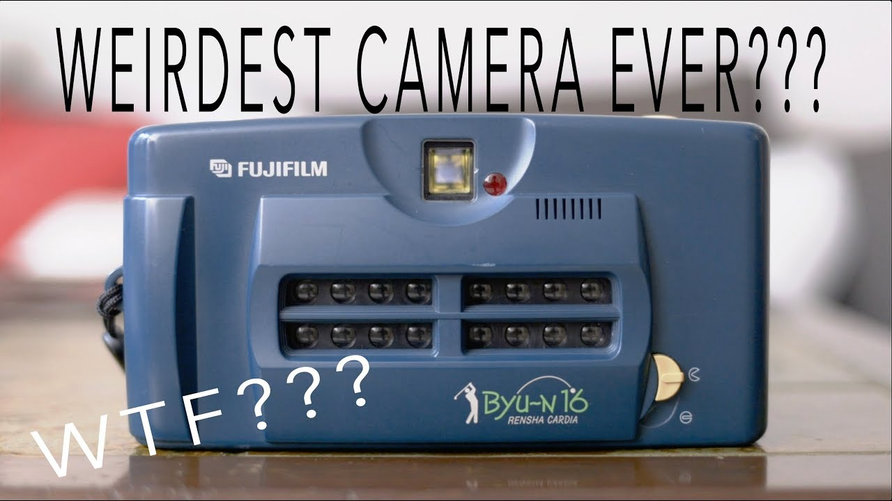 The Weirdest Camera EVER??? The amazing Fujifilm Rensha Cardia Byu-N 16 - youtube