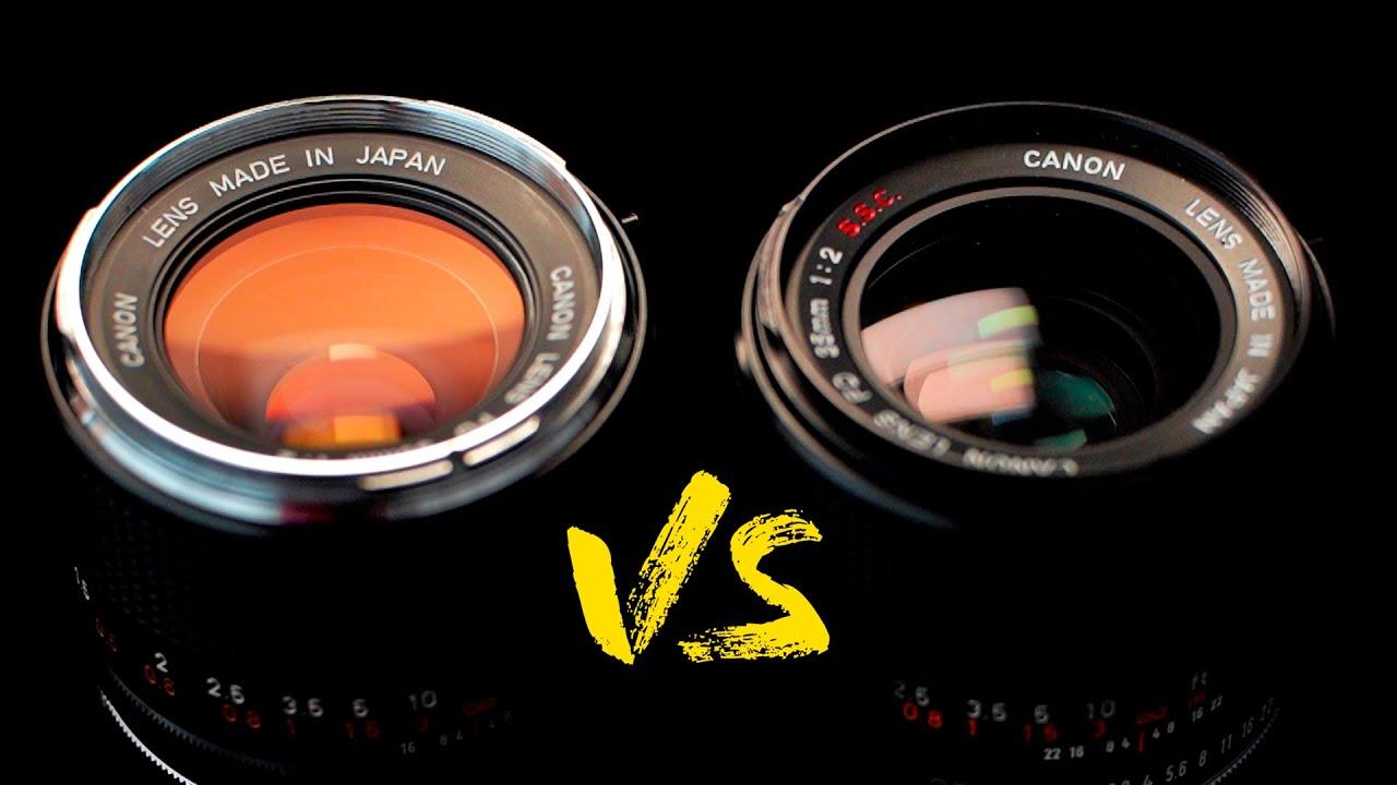 Concave Lens VS Convex - Are the Rumors True? Canon FD 35mm f2 - youtube