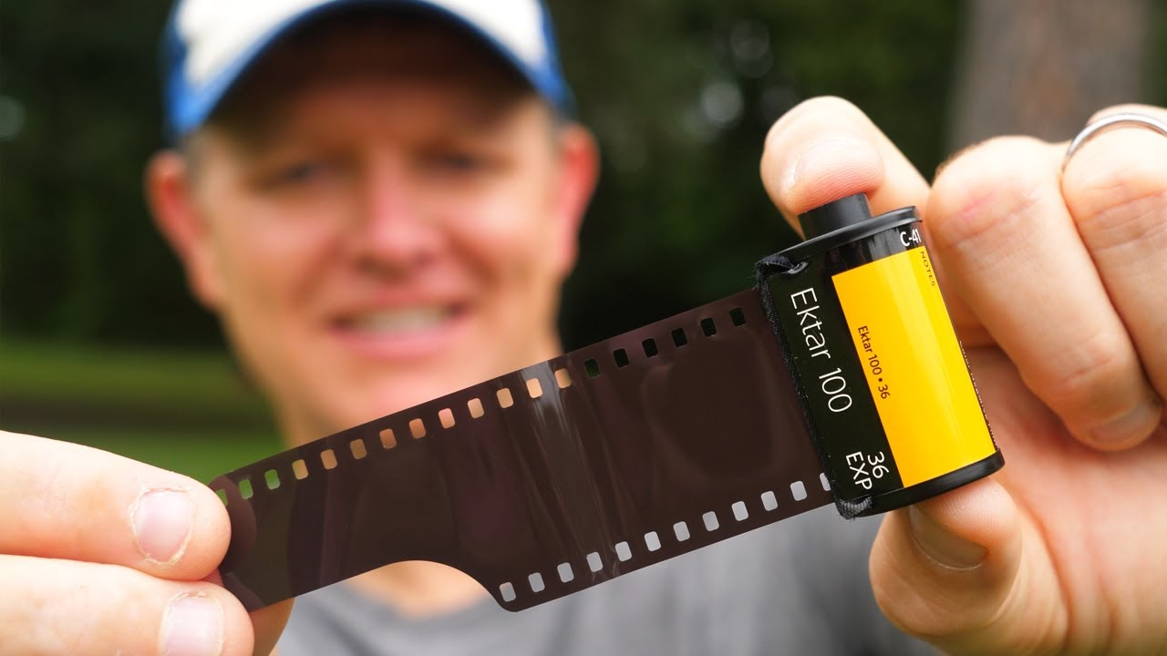 How Does Film ACTUALLY Work? (It's MAGIC)  [Photos and Development] - Smarter Every Day 258 - youtube