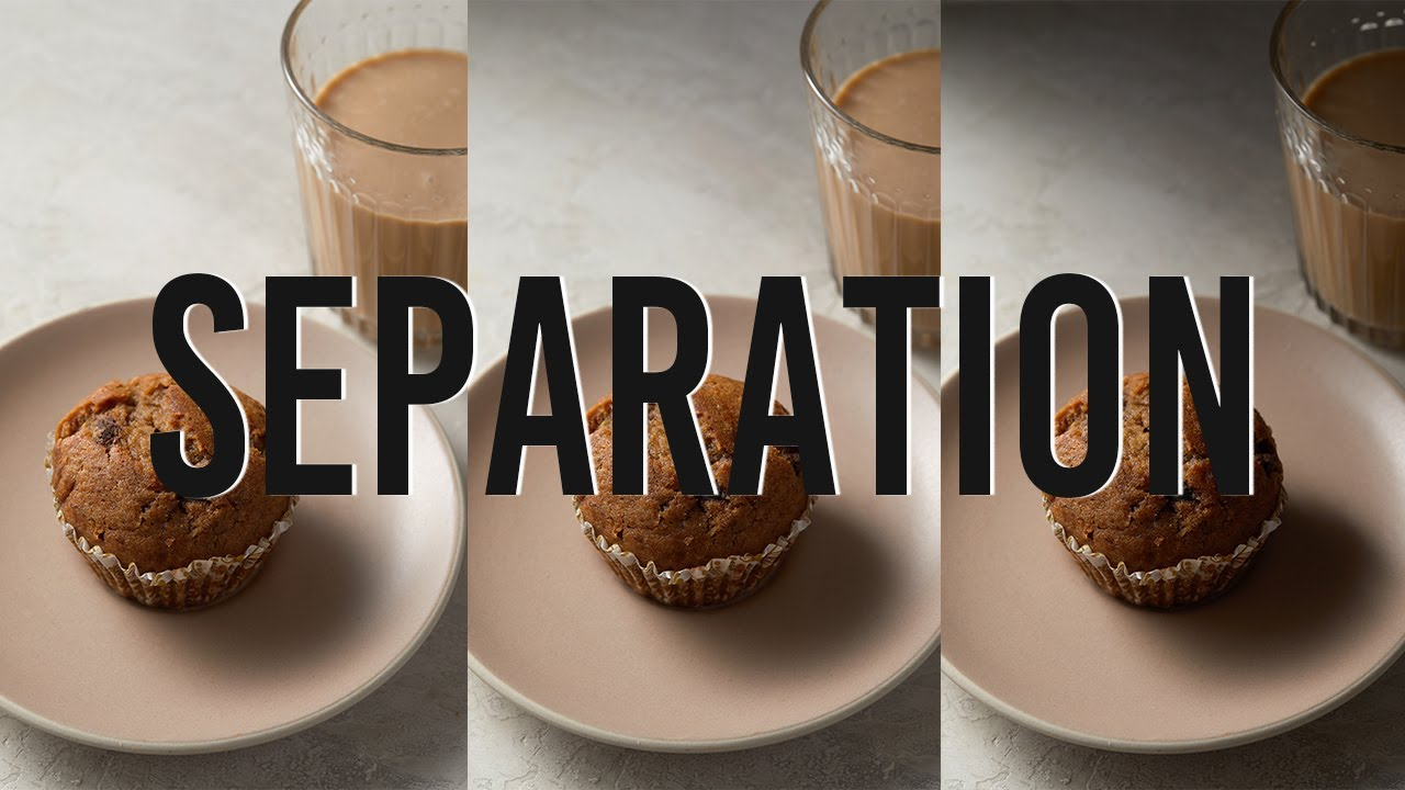 How to Make the Subject STAND OUT in your Food Photography - youtube