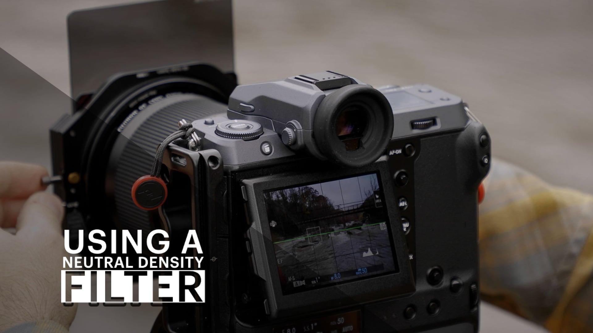 Using a Neutral Density Filter - vimeo