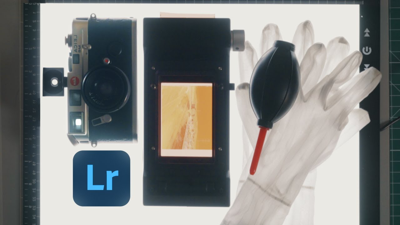 How I Scan & Edit Film - youtube