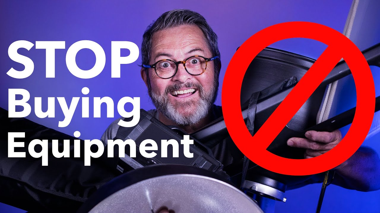 STOP BUYING EQUIPMENT! You Only Need These 6 Things To Make Money In Photography! - youtube