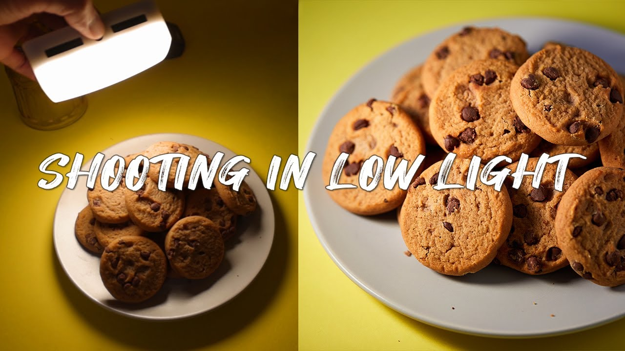 5 Tips for Low Light Food Photography WITHOUT a Tripod - youtube