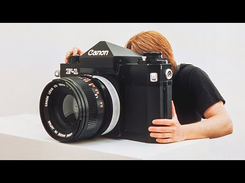 Shooting the Legendary Canon F-1: The best 35mm Film Camera ever made? - youtube