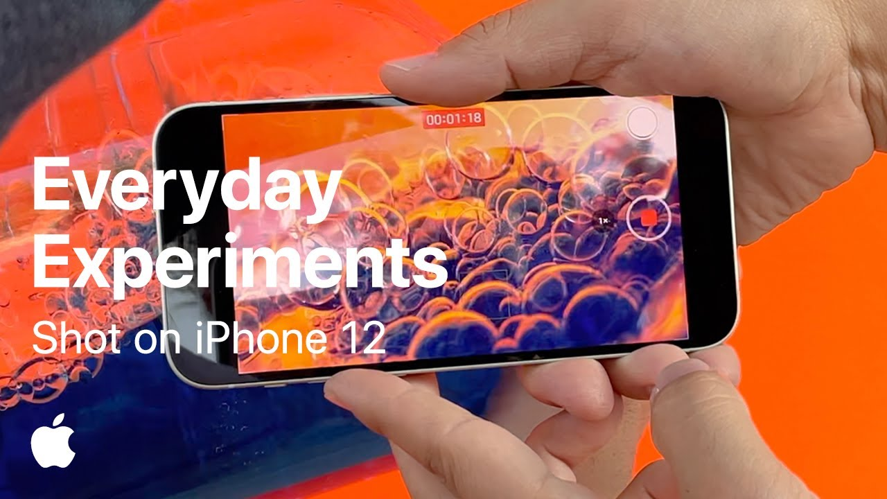 Shot on iPhone 12 — Everyday Experiments. Get creative at home. - youtube