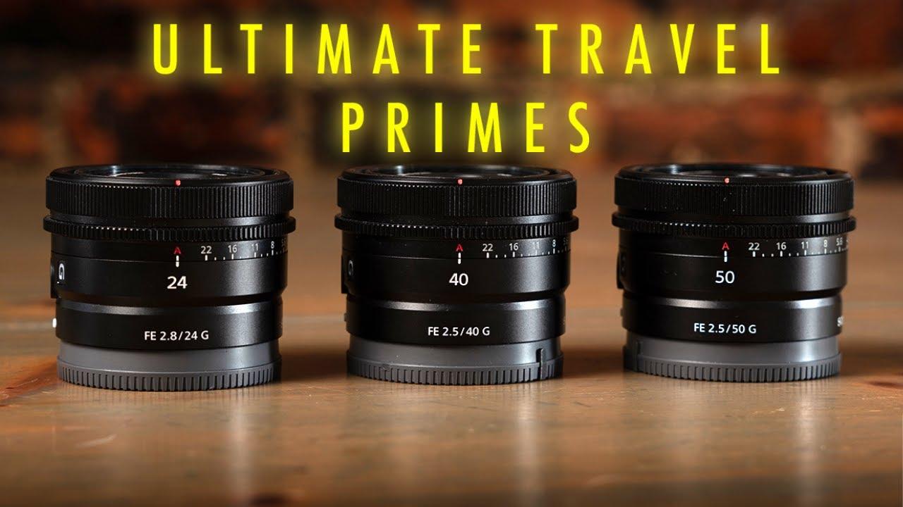 Ultimate Sony Travel Lenses in Lisbon, Portugal - youtube