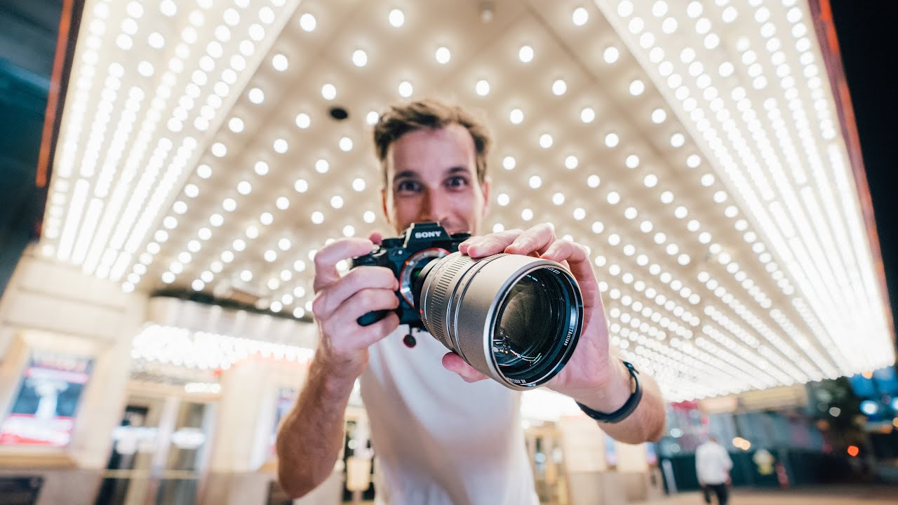 WEIRD 90mm f/1.25 Bokeh MADNESS Street Photography! - youtube