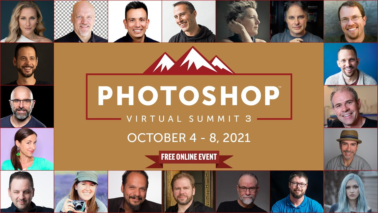 Get a Free Ticket to the Photoshop Summit - youtube