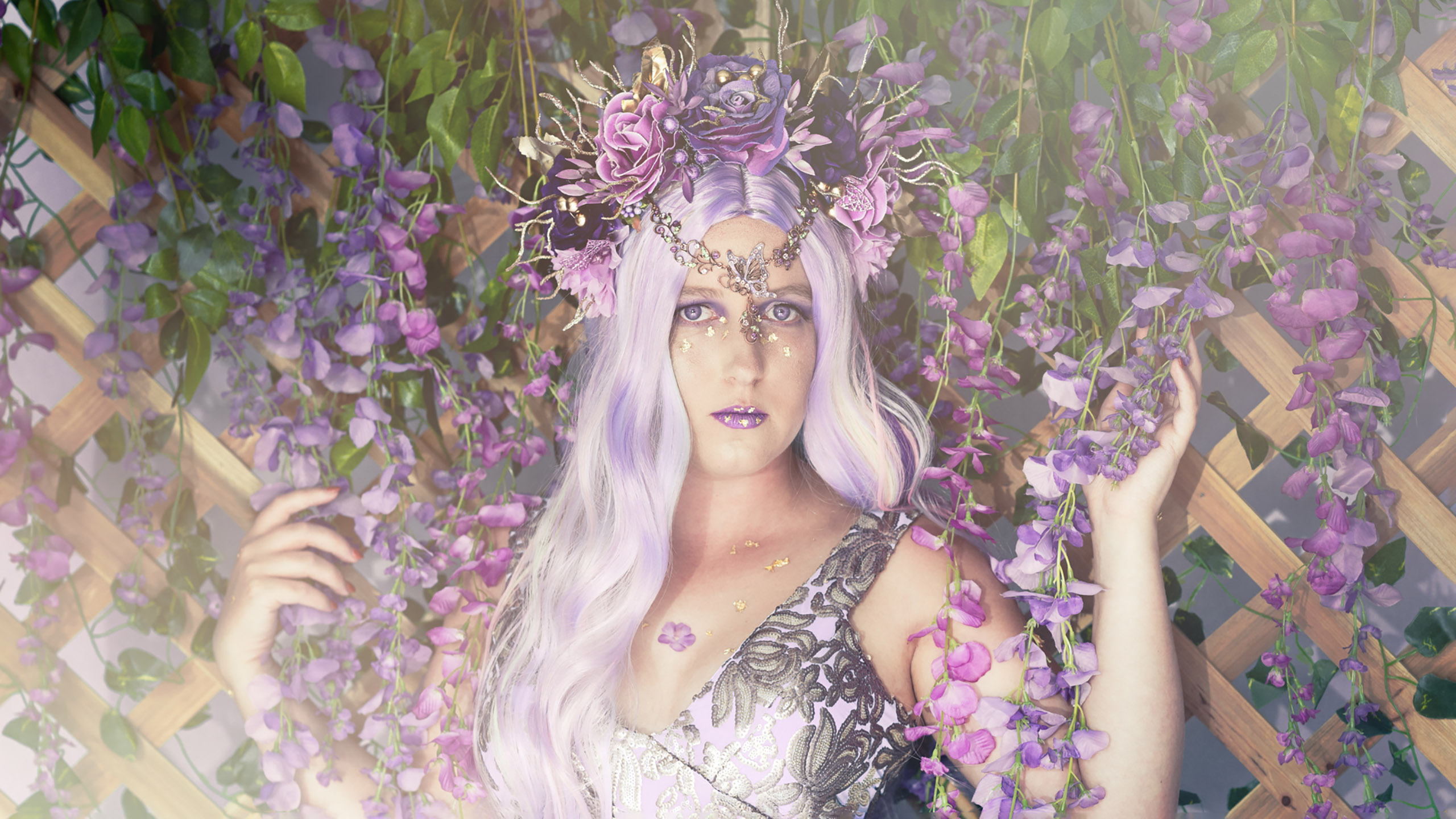 Julie Powell - Purple Dreams -banner