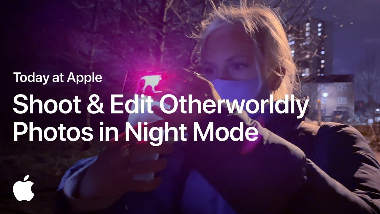 Shoot and Edit Otherworldly Photos in Night Mode with Maria Lax | Apple - youtube