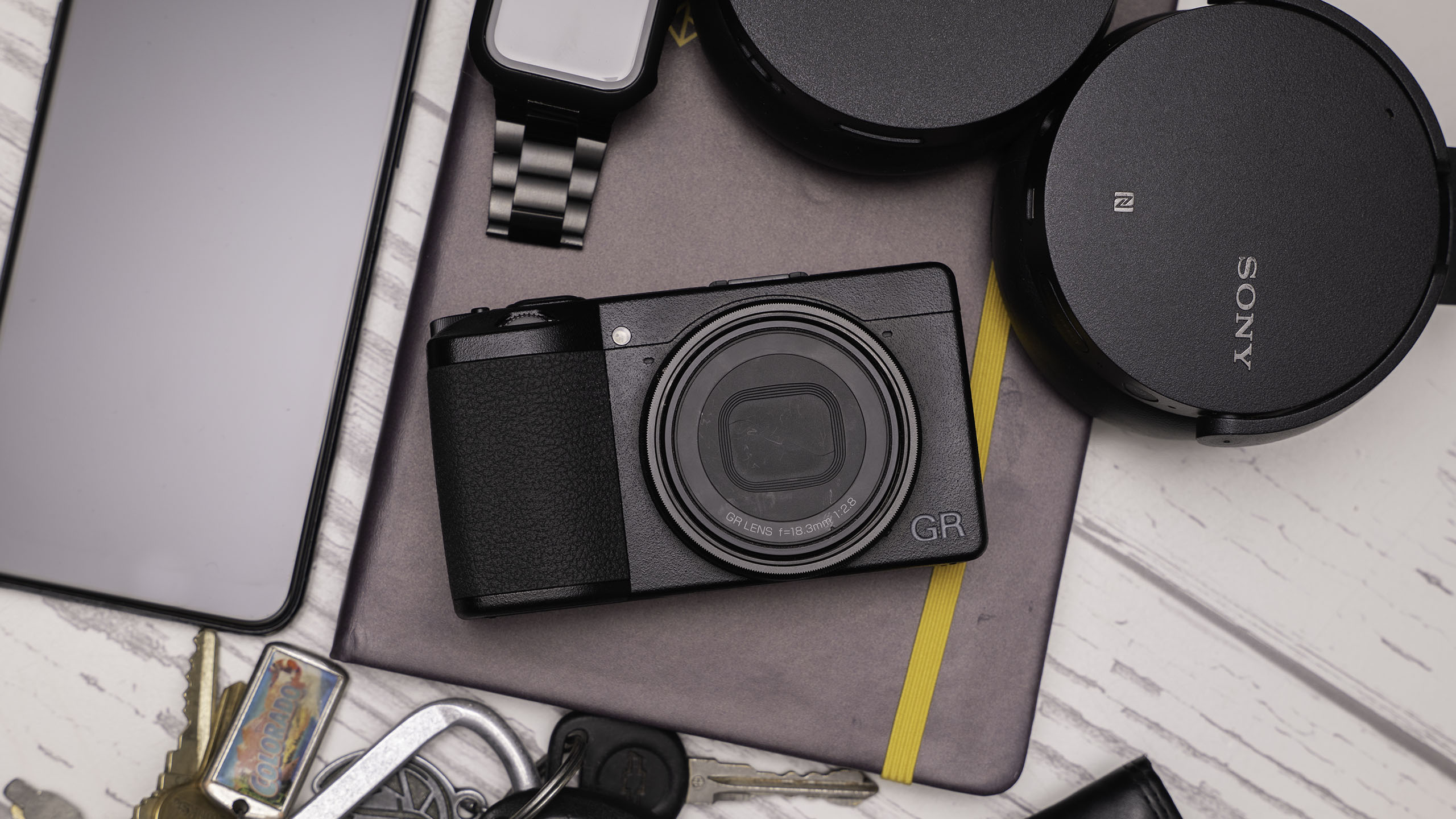 The Ricoh GR III keeps the same minimalist design we have come to love.