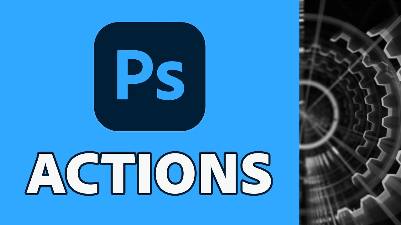 Get more done with Photoshop Actions - youtube