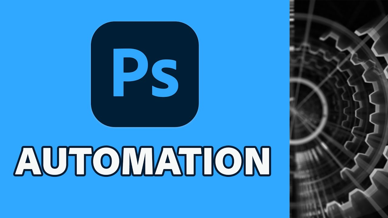 Get more done with Photoshop Automation - youtube
