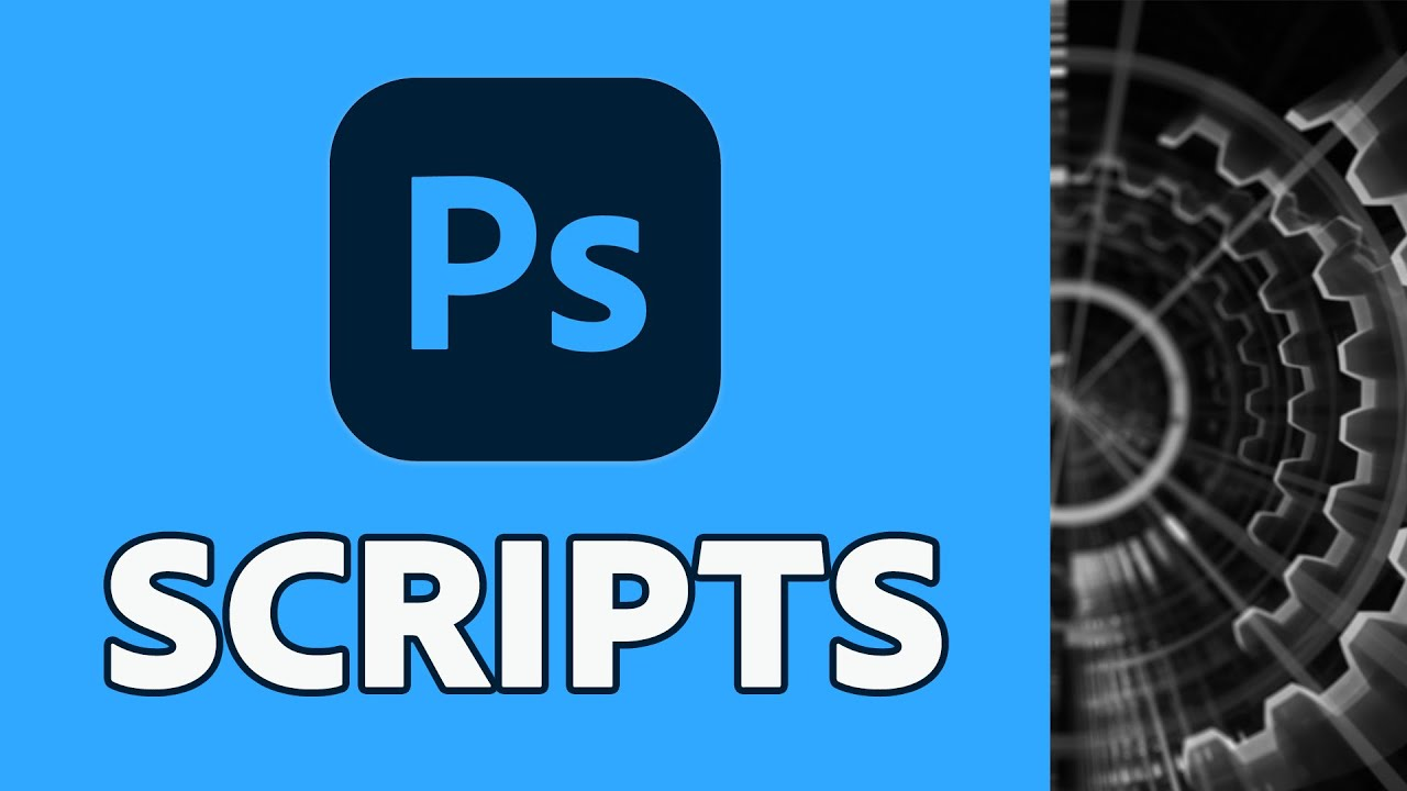 Get more done with Photoshop Scripts - youtube