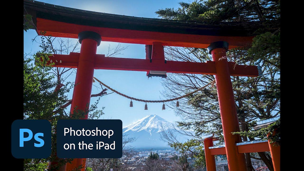 Photoshop on the iPad Sneak Peek: Camera raw editing - youtube